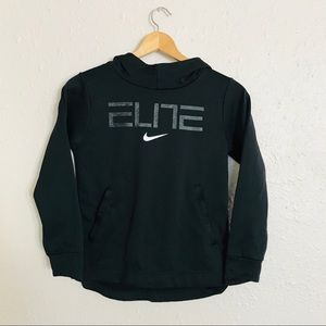 Nike Youth Elite Therma-Fit Black Hoodie